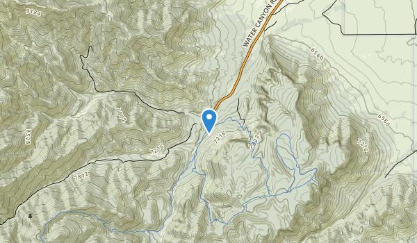 trail locations for Devils Backbone Wilderness