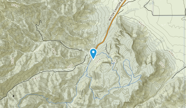 Devils Backbone Wilderness Map
