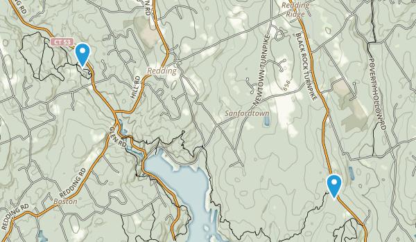 Saugatuck Falls Natural Area Map