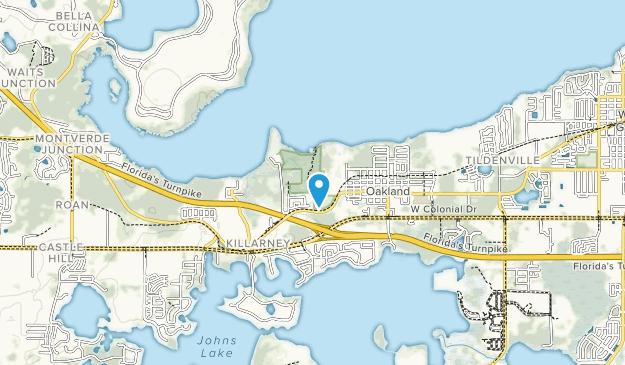 Oakland Nature Preserve Map