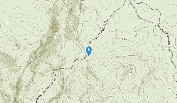 Hart Mountain National Antelope Refuge Map