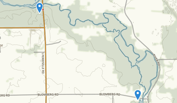 Blackhawk Springs County Forest Preserve Map