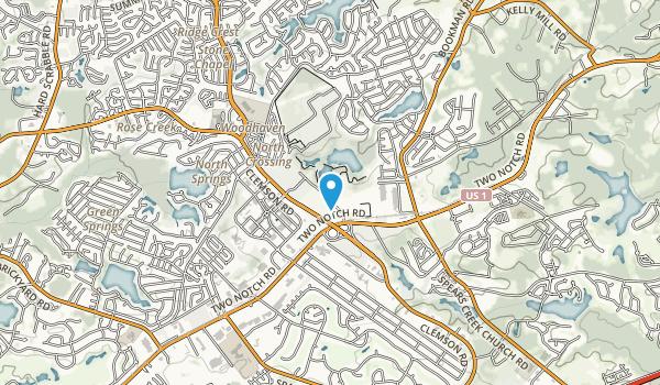 Clemson University Sandhill Experiment Station Map