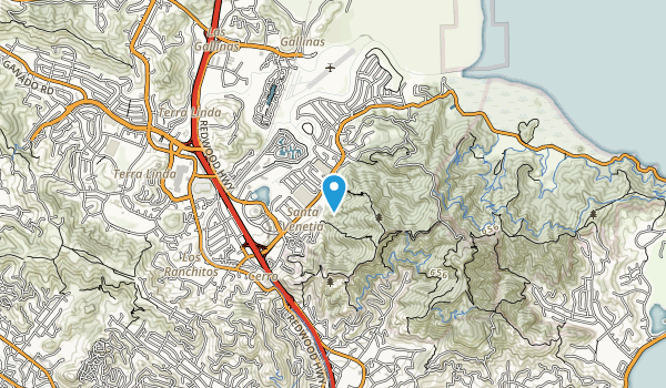 San Pedro Mountain Open Space Preserve Map