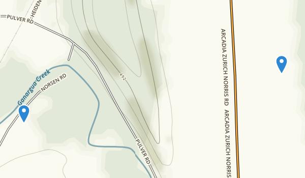 Norsen Bridge County Park Map