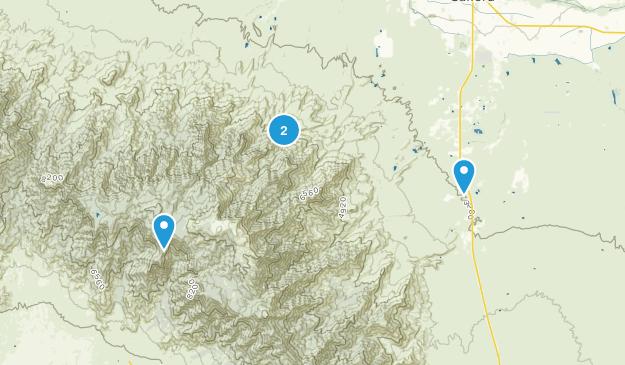 Mount Graham Wilderness Map