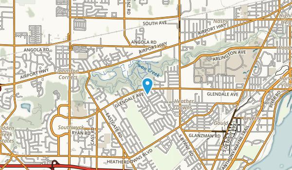 Swan Creek Preserve Metropark Map