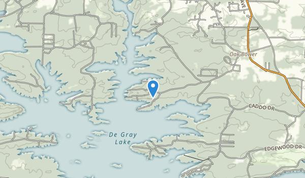 Arlie Moore Recreation Area Map