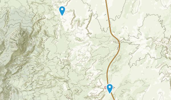 Bull Mountain Willderness Map
