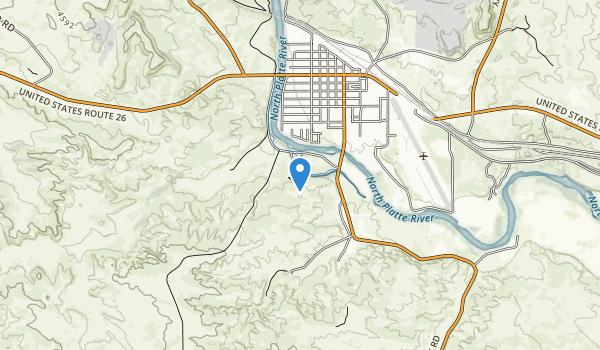 Oregon Trail Ruts State Historic Park Map