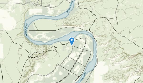 Ouray National Wildlife Refuge Map