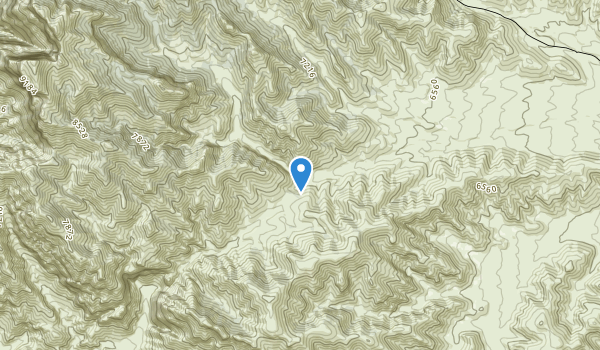 Notch Peak Wilderness Study Area Map