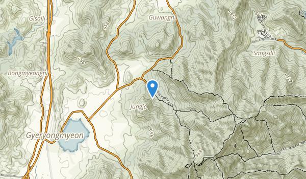 Gyeryongsan National Park Map