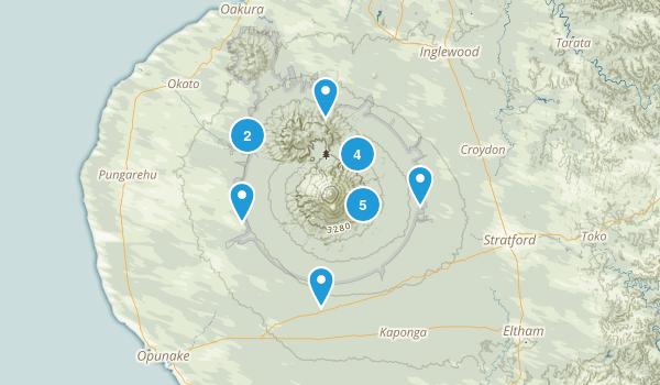 Egmont National Park Map