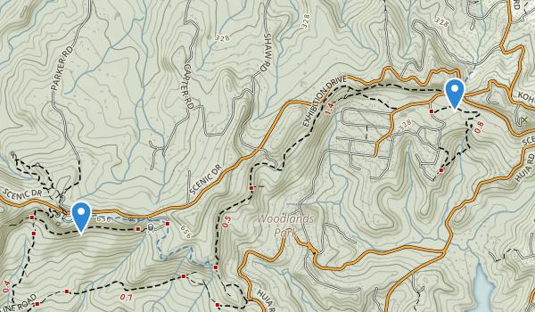 Waitakere Regional Park Map