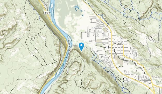 Scott M. Matheson Wetlands Preserve Map