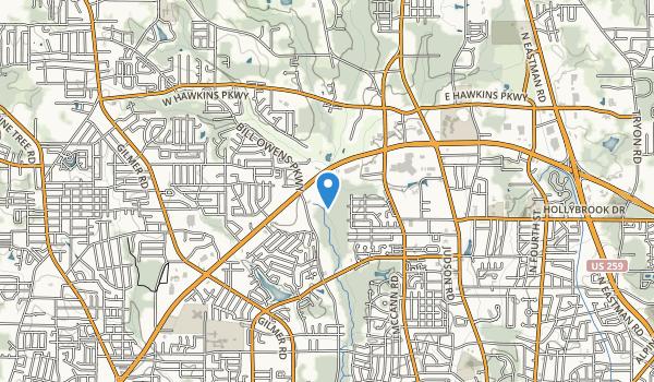 Paul G Boorman Trail Park Map