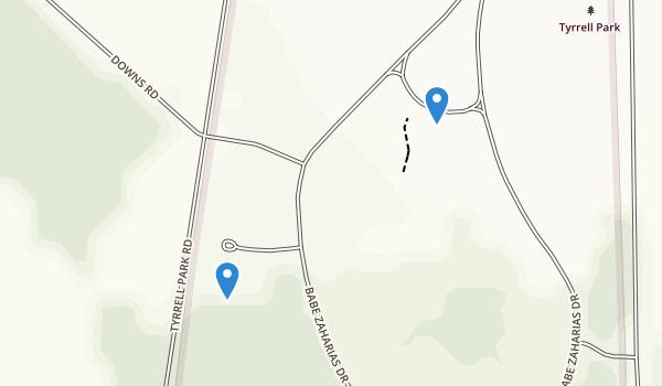 Tyrell Park Map