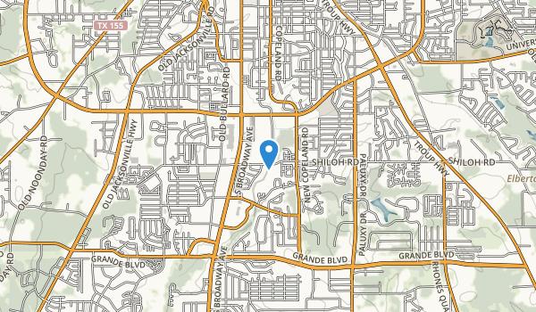 Rose Rudman Park Map