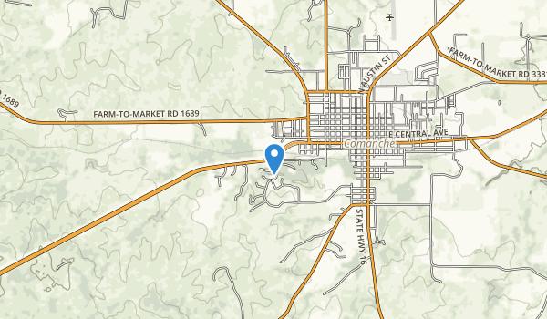 Comanchen Park Map