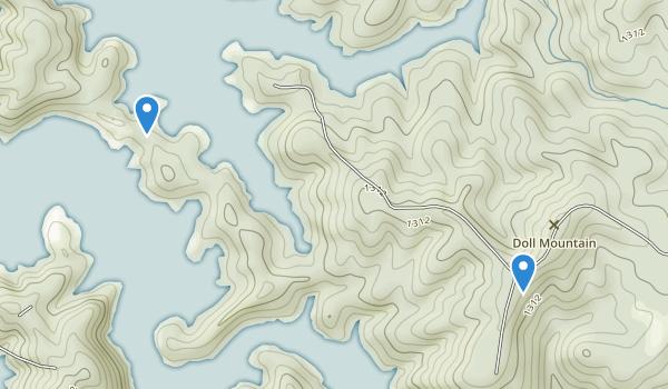 Doll Mountain Recreation Area Map