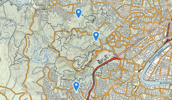 Mount Coot-tha Forest Park Map