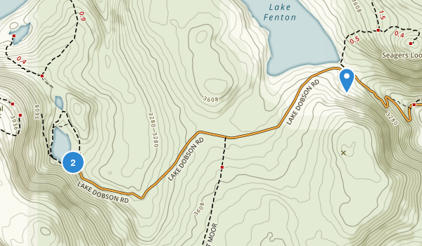 Mount Field National Park Map
