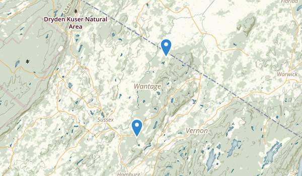 Wallkill National Wildlife Refuge Map