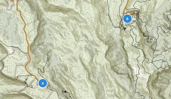 Lamington National Park Map