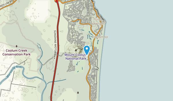 Mount Coolum National Park Map