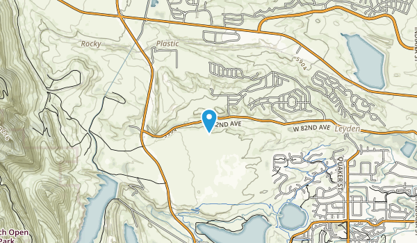 Pattridge Open Space Preserve Map