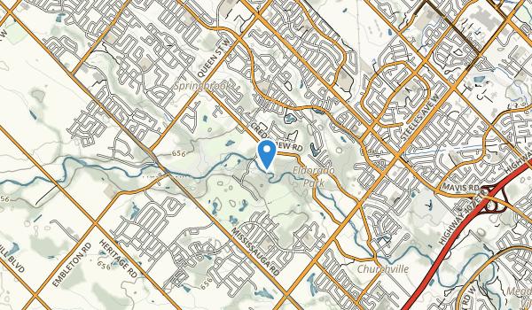 Eldorado Park Map