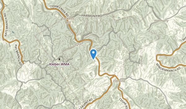 Kleber Wildlife Management Area Map
