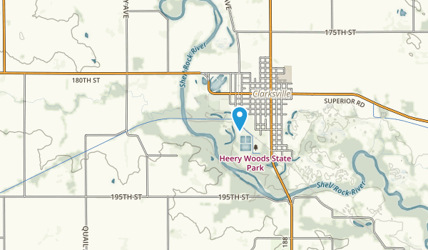 Heery Woods State Park Map