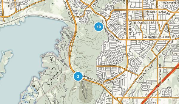 Cedar Ridge Preserve  Map
