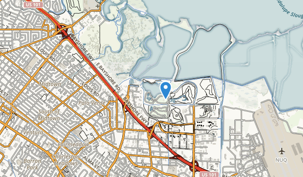 Shoreline at Mountain View Park Map