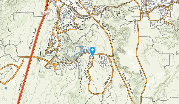 Rhyolite Regional Park Map