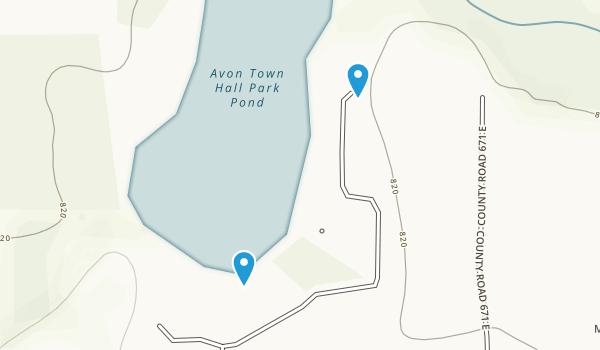Avon Town Hall Park Map