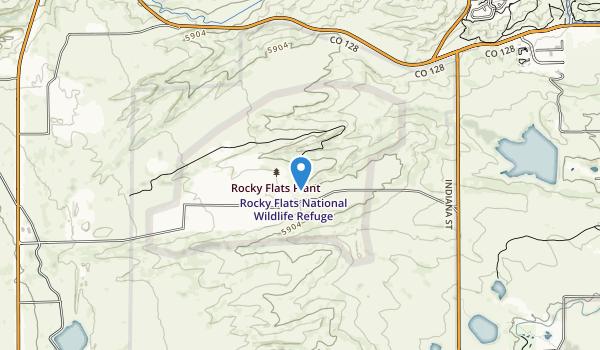 Rocky Flats National Wildlife Refuge Map