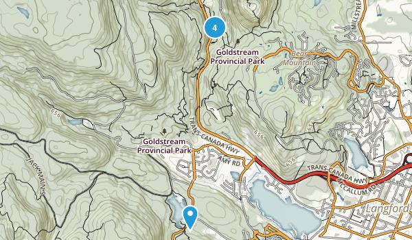 Goldstream Provincial Park Map