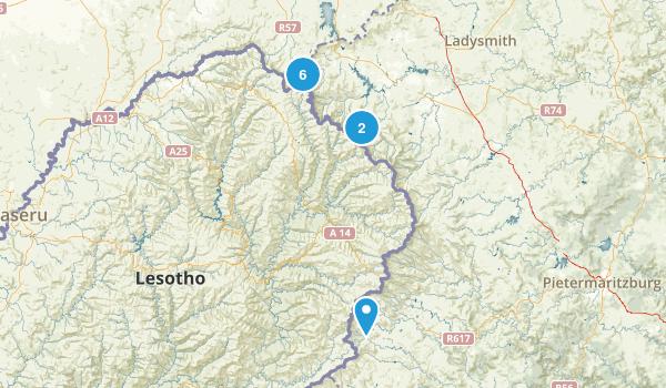 Drakensberg Park Map