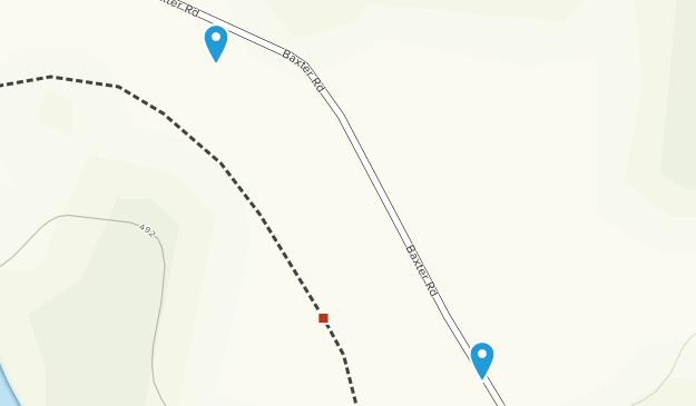 Baxter Preserve Map