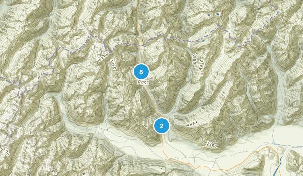 Arthur's Pass National Park Map