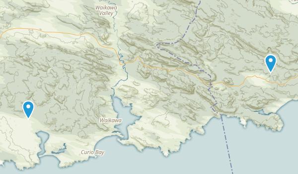 Catlins Forest Park Map