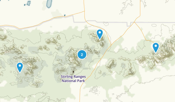 Stirling Range National Park Map