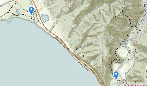 Año Nuevo State Park Map