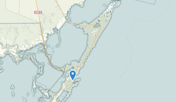 Dagny Johnson Key Largo Hammock Botanical State Park Map