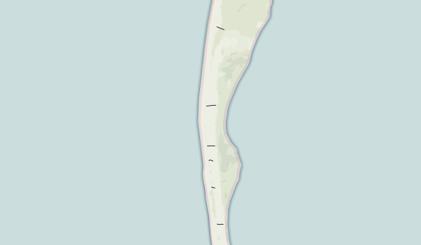 T.H. Stone Memorial St. Joseph Peninsula State Park Map