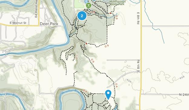 Matthiessen State Park Map