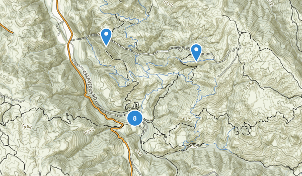 Sunol Regional Wilderness Map